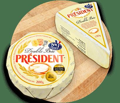 President, uno de los quesos Brie más famosos