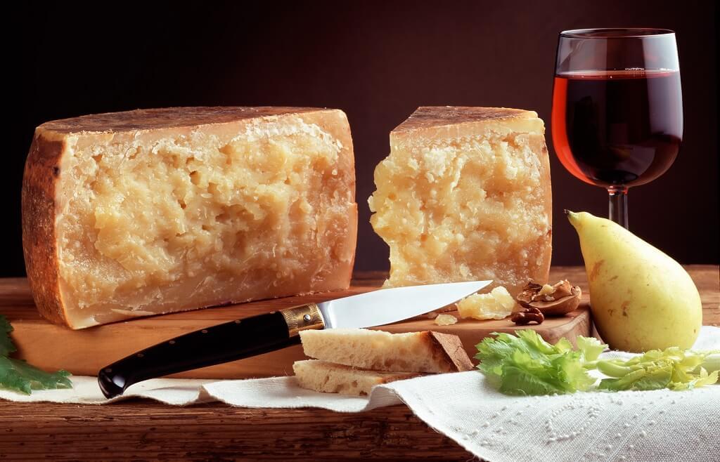 Queso Pecorino Sardo, un clásico de la cocina italiana