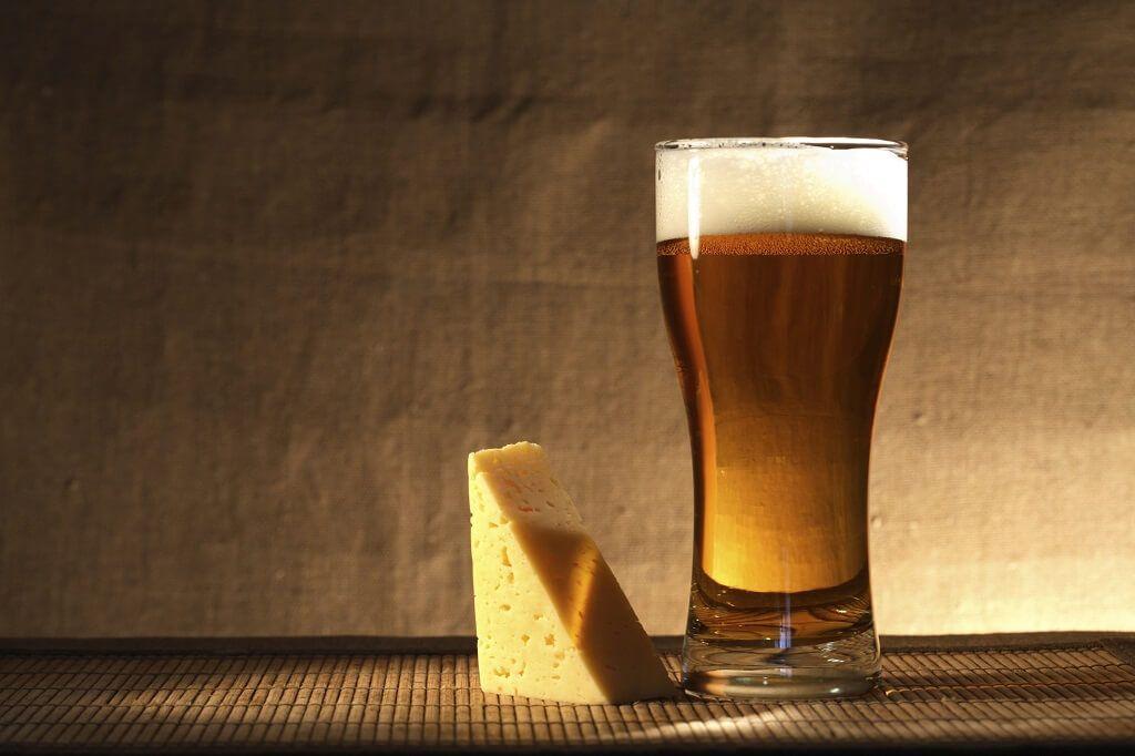 Conseguí la combinación perfecta de cervezas y quesos
