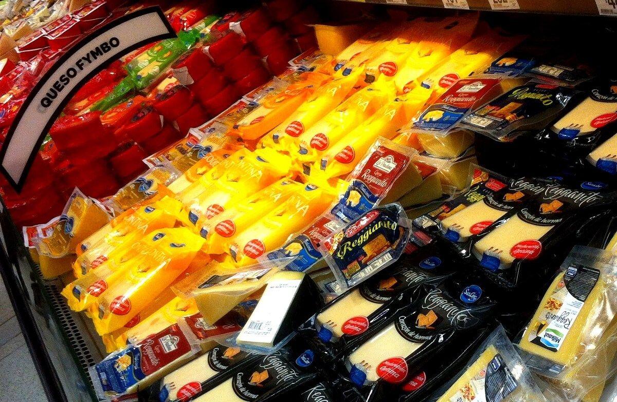 No aconsejamos comprar quesos en el supermercado